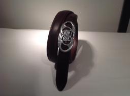 Bælte med keltisk spænde, gennembrudt oval